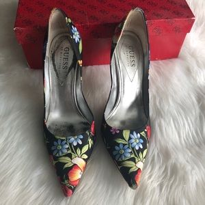 Guess by Marciano Shoes - Guess • Floral Heels